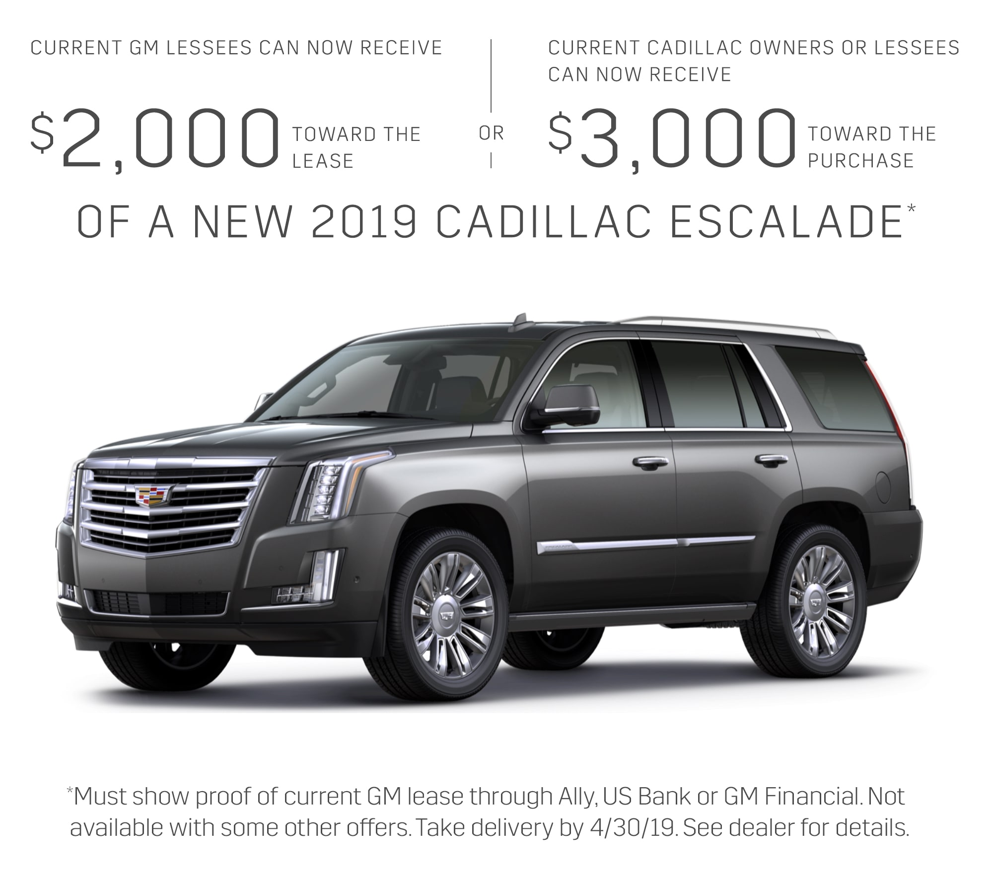 Buy Used Cadillac Escalade: Current Offers & Special Deals