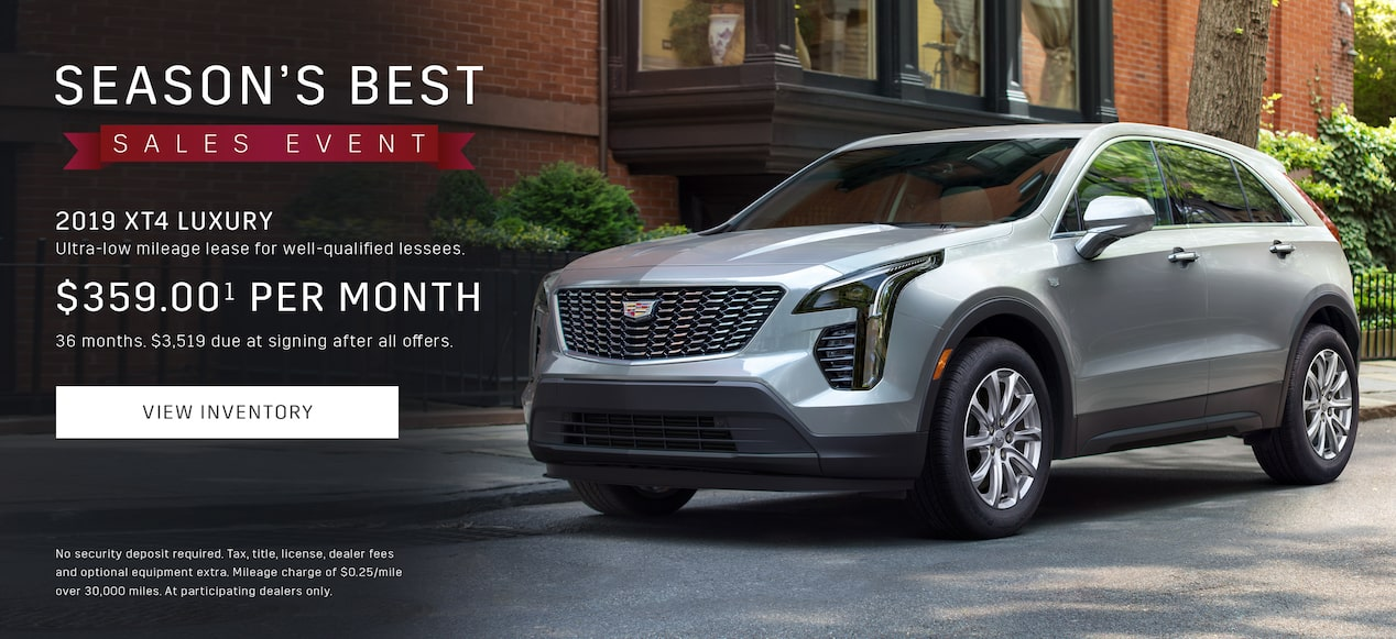 Best Cadillac Lease Deals 2017