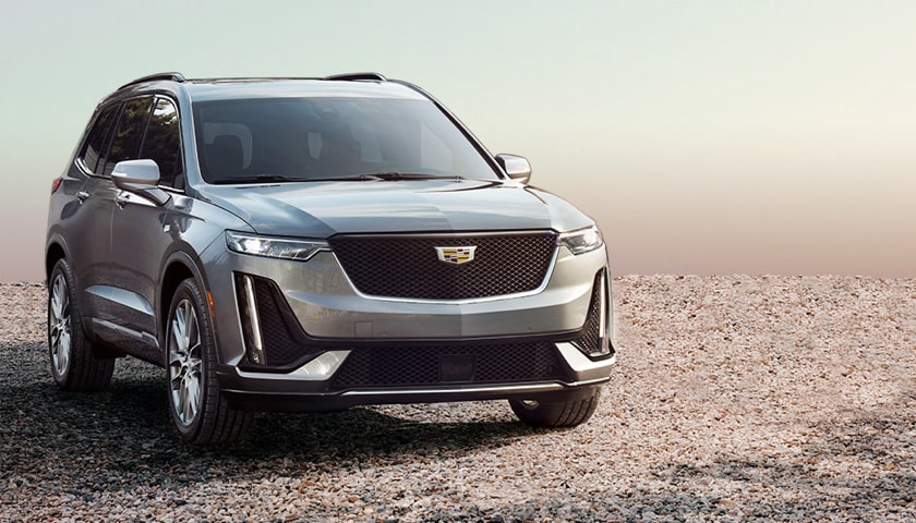 Cadillac SUV Exterior Front Side Angle View