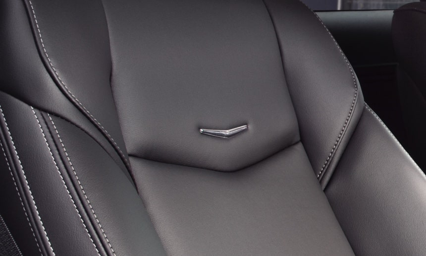 Close Up of ATS Coupe Seat