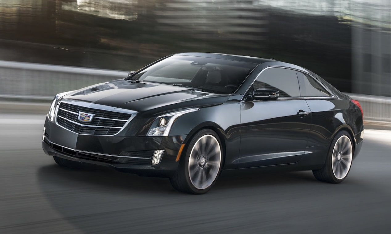 2018 ATS Coupe Driving