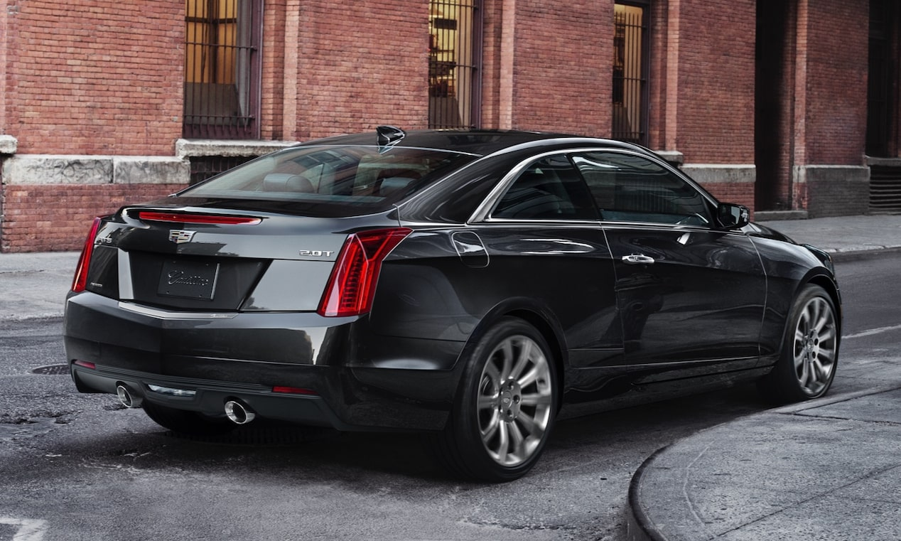 Rear of 2019 ATS Coupe
