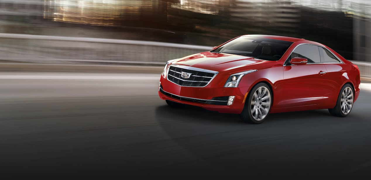 Cadillac ATS Coupe Driving
