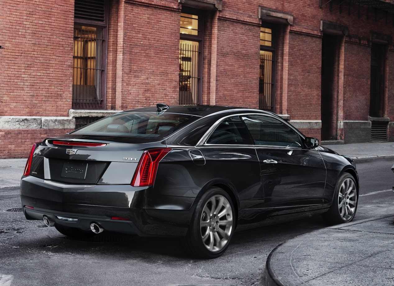 Rear of ATS Coupe