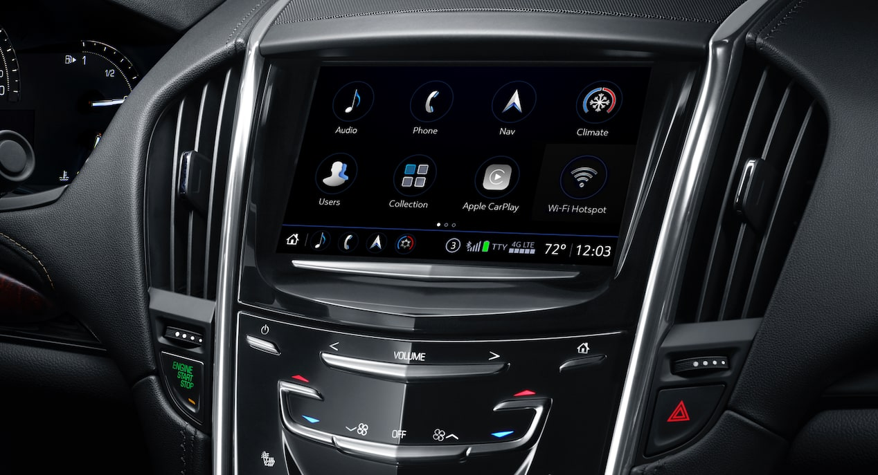 ATS Coupe Infotainment