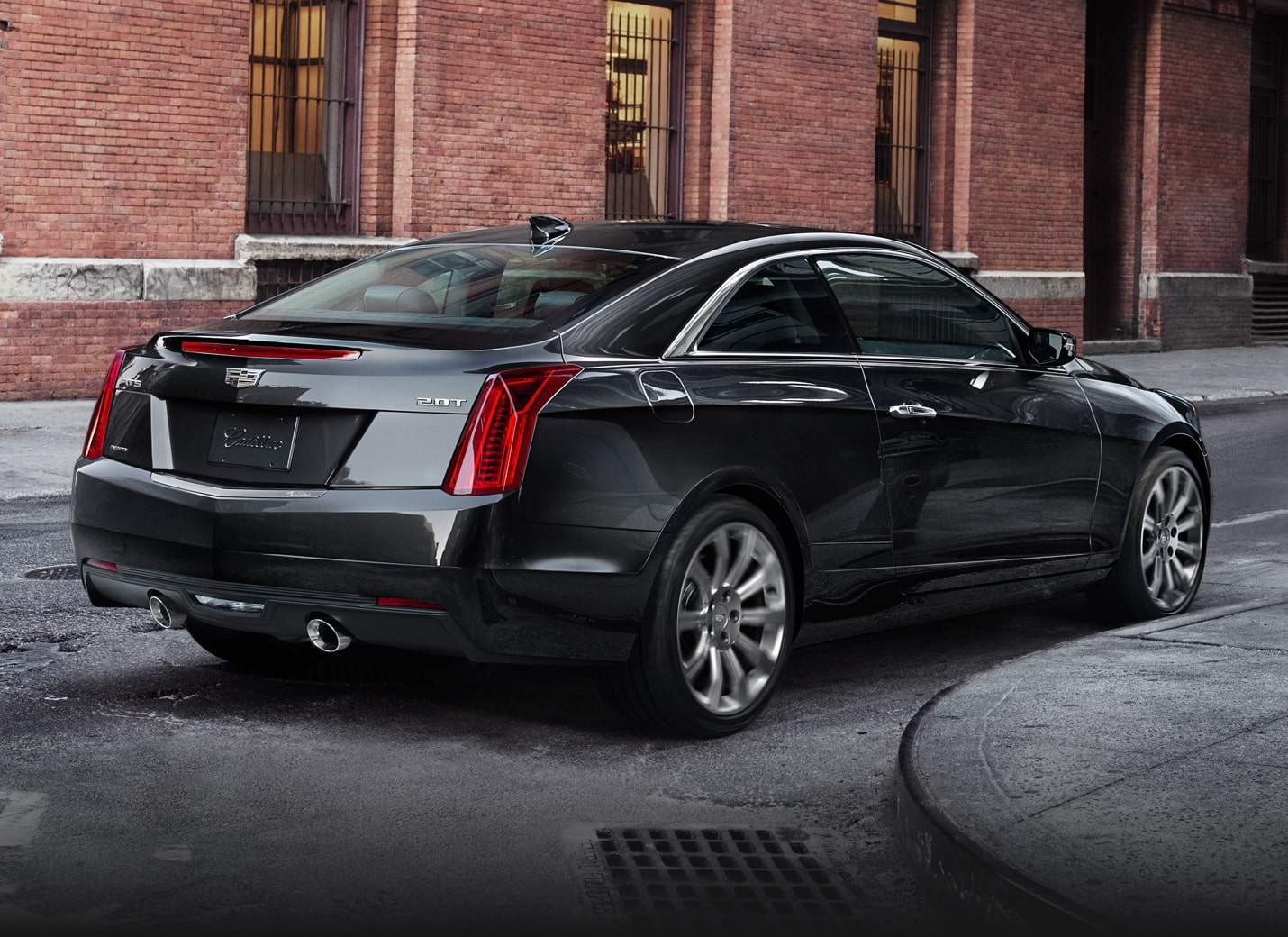 Superb Rear Of ATS Coupe