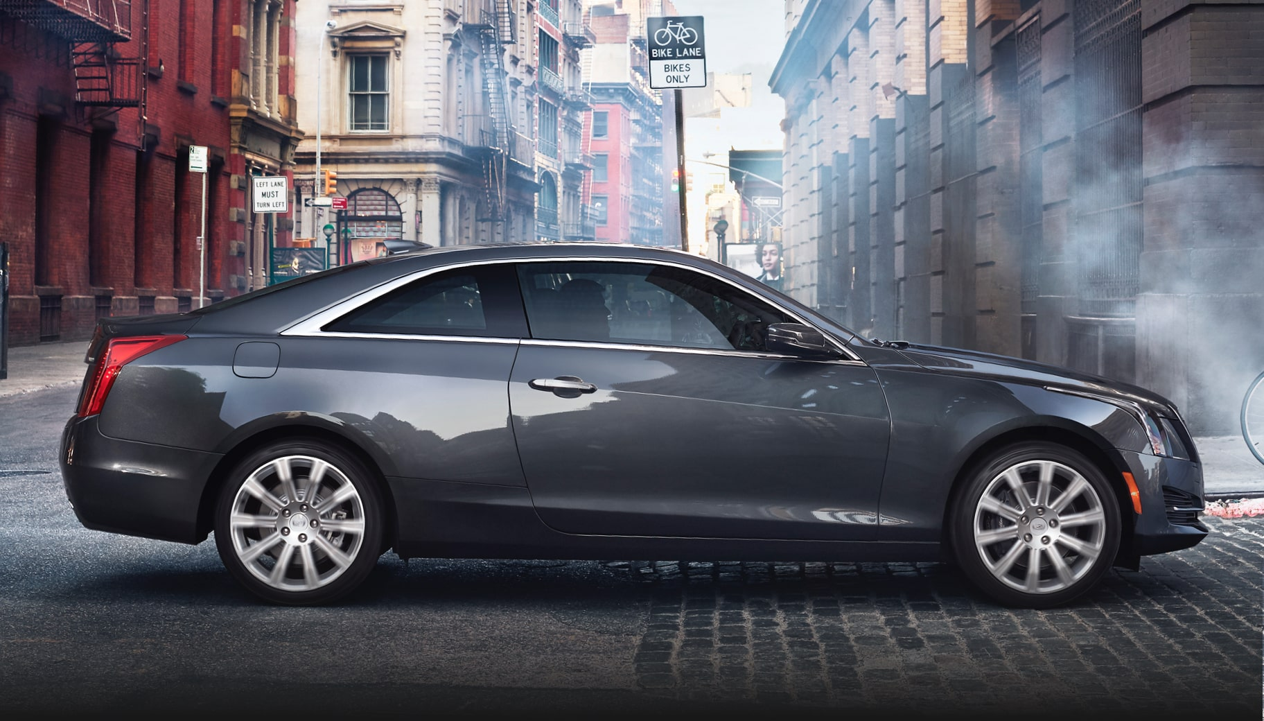 Side View Of ATS Coupe