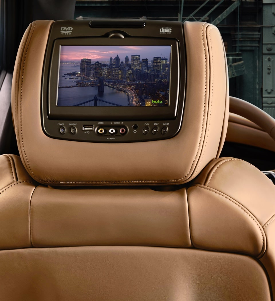 Escalade Backseat Infotainment