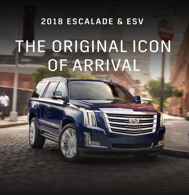 2018 Escalade SUV & ESV