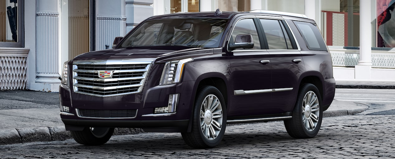 Escalade SUV Exterior in Midnight Sky Metallic