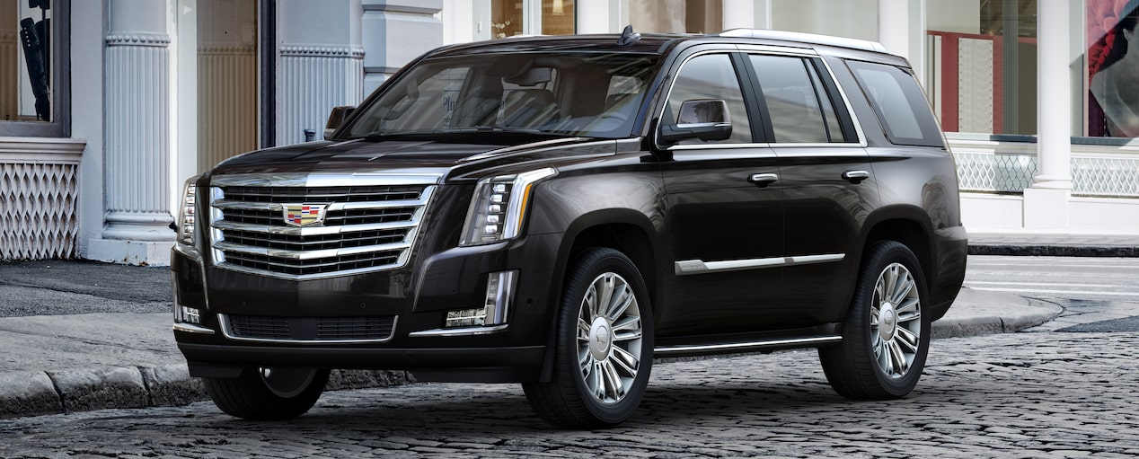 Escalade SUV Exterior in Black Raven