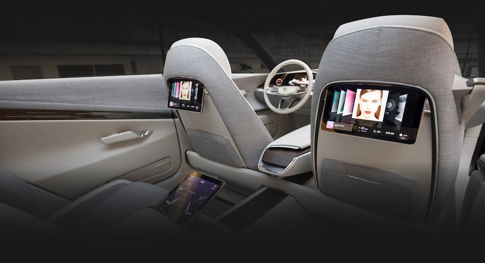 Escala Rear Seat Entertainment