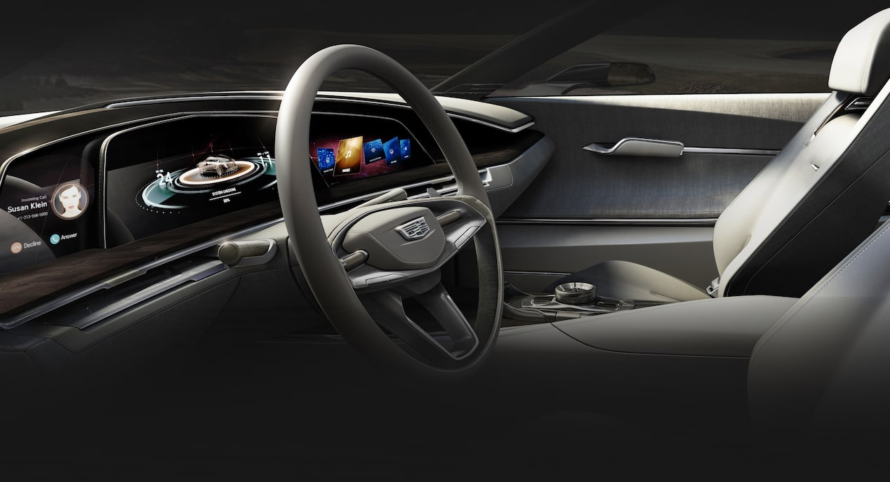 Escala Concept Car Interior