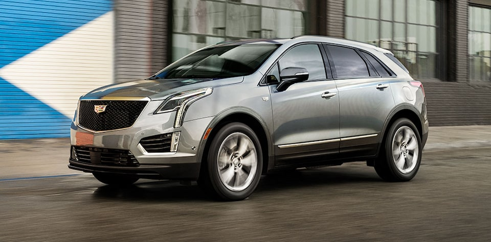 Cadillac XT5 Crossover Rear Side Exterior