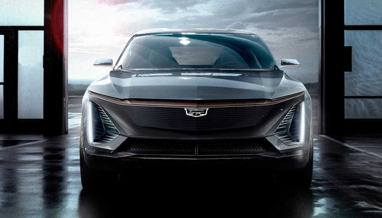 Cadillac Future Vehicles: EV Electric Car Front Grille
