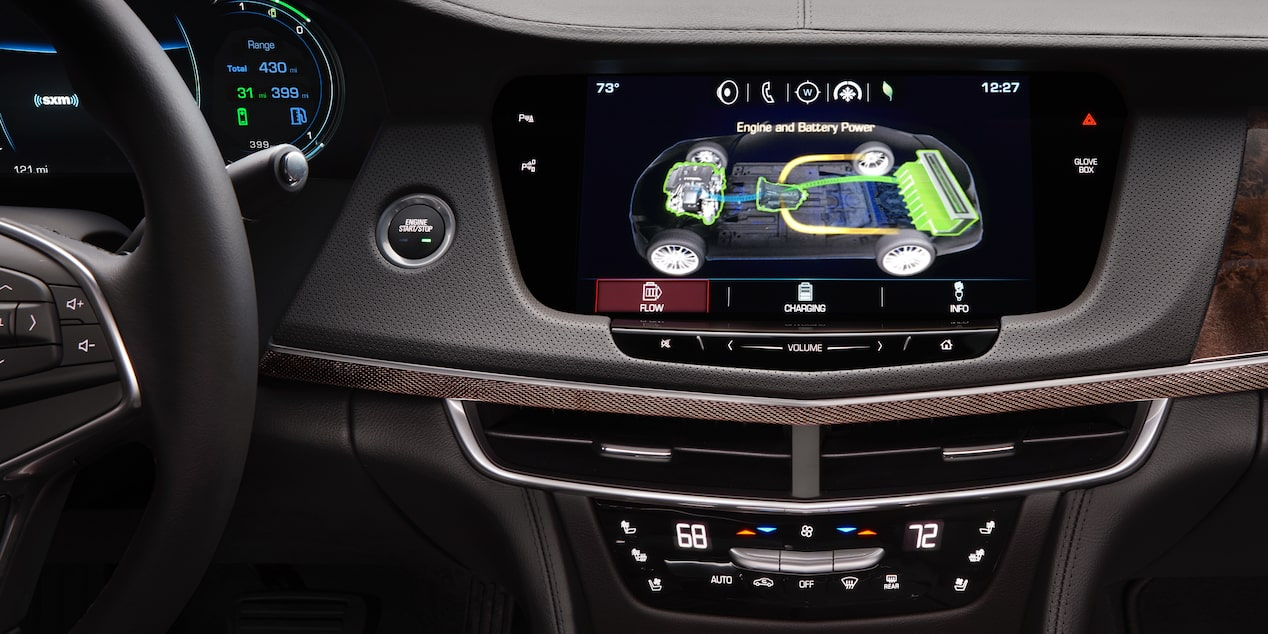 CT6 Plug-In Infotainment