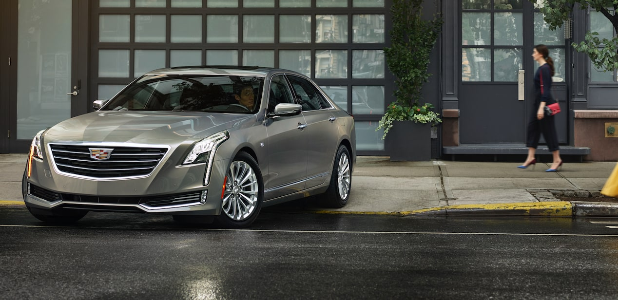 Front View Of 2018 Ct6 Plug In