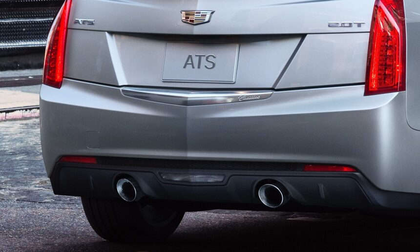 Rear of ATS Sedan