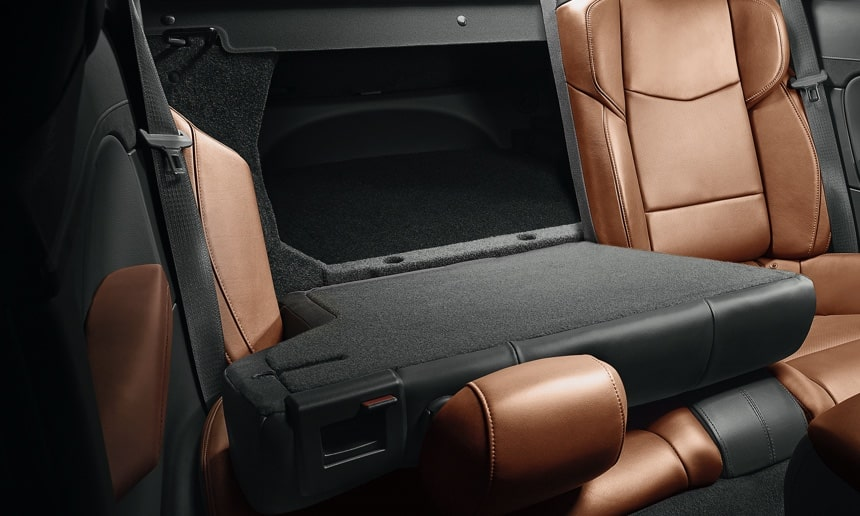 Folding Backseat in ATS Sedan