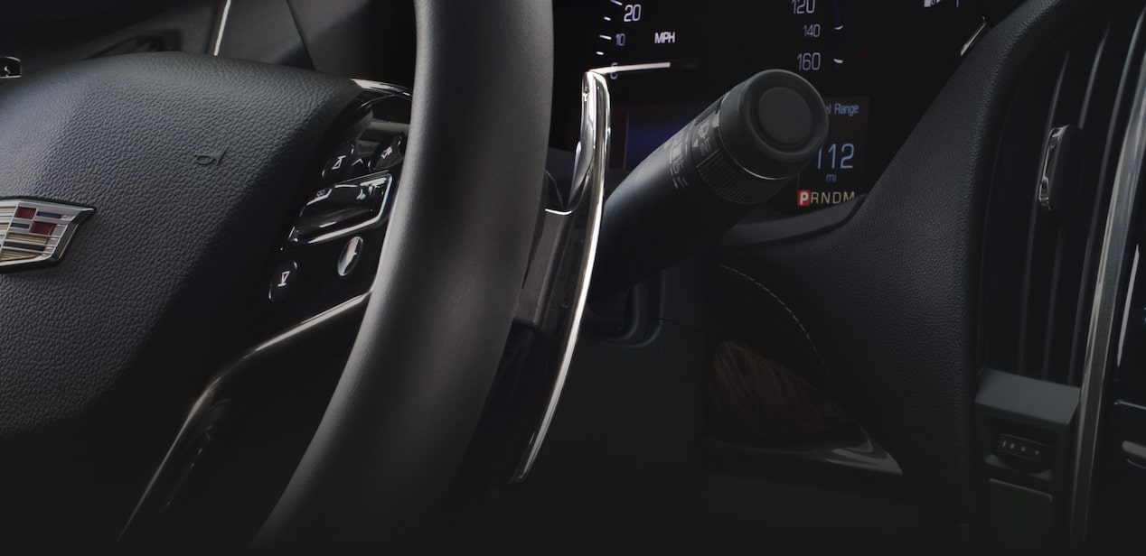ATS Sedan Paddle Shifters