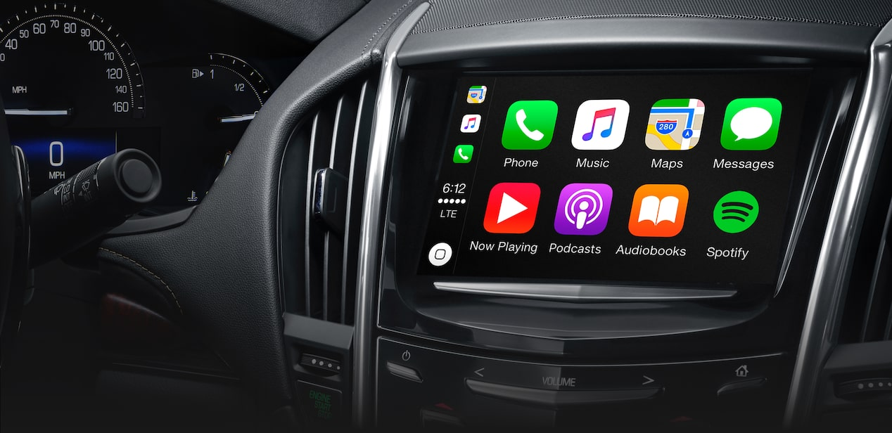 Apple CarPlay in ATS Sedan