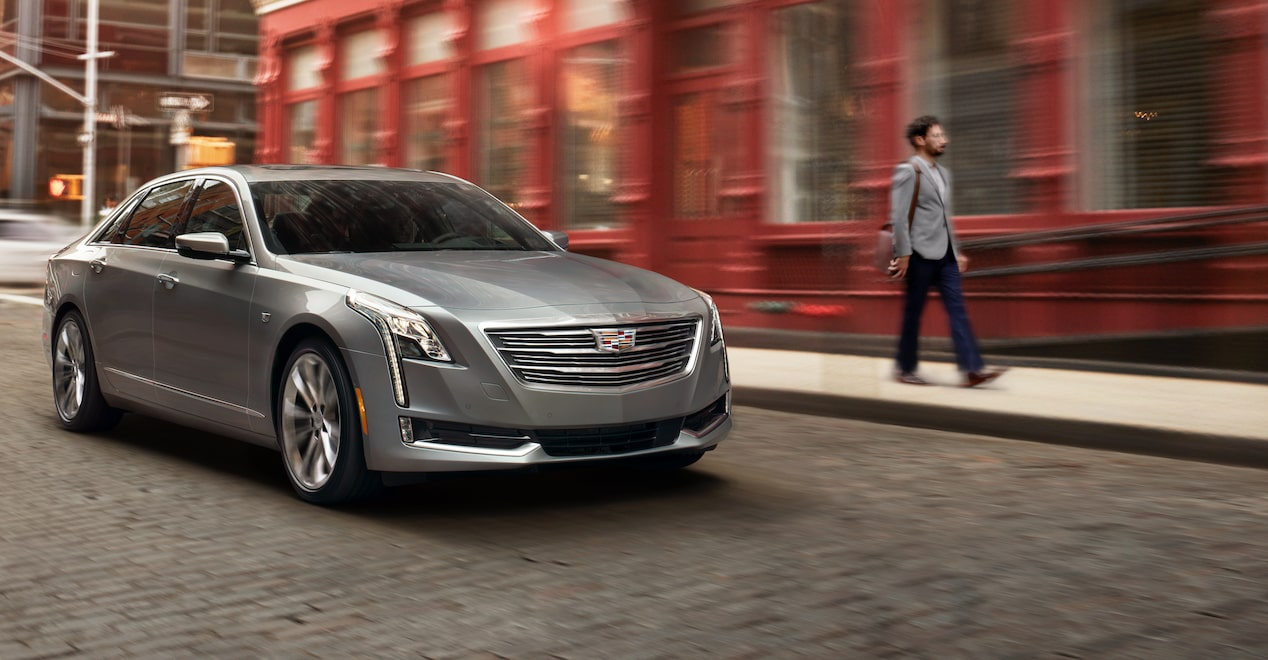 Front Quarter View of CT6