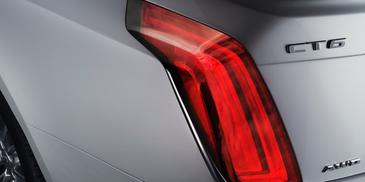 CT6 Sedan Tail Light Close Up