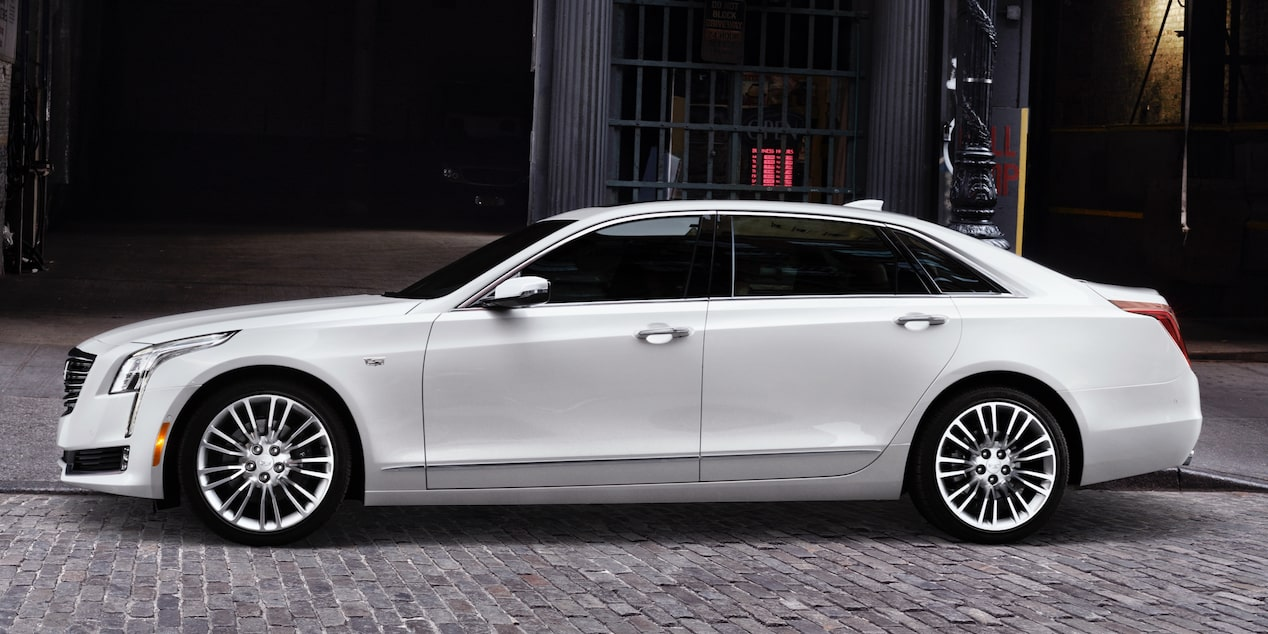 Side View of CT6 Sedan Exterior