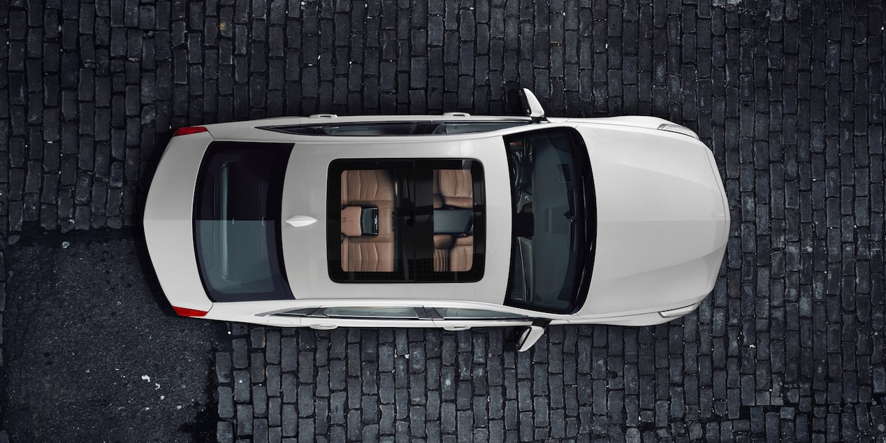 Aerial View of 2018 CT6