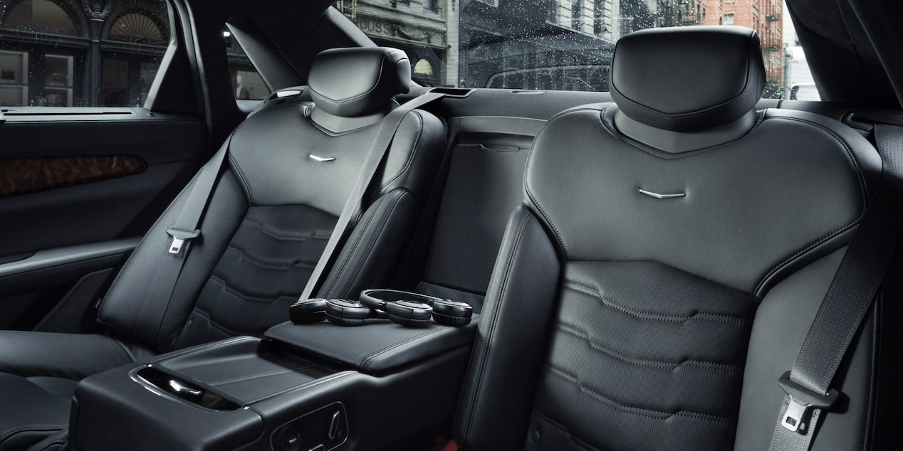 Cadillac CT6 Back Seats