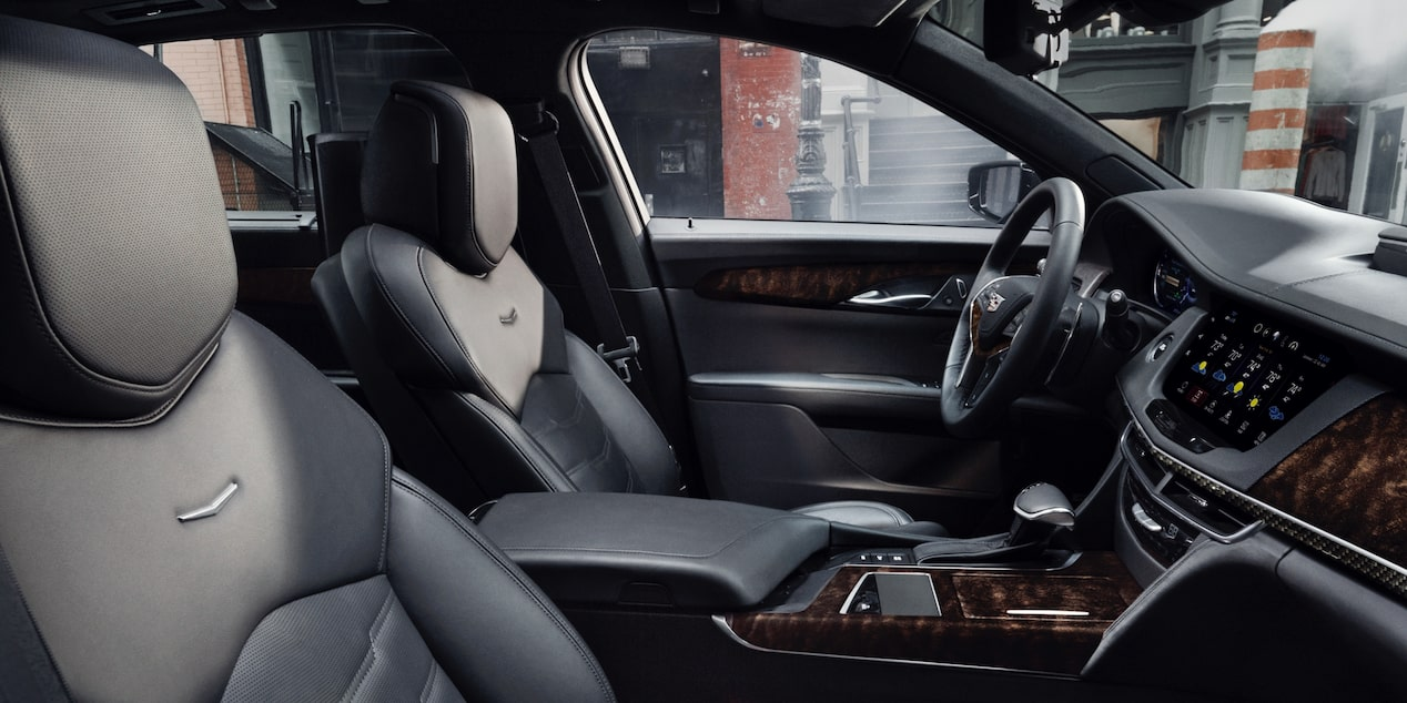 Cadillac CT6 Sedan Front Seats