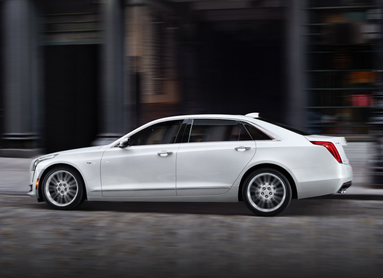 CT6 Sedan Side View
