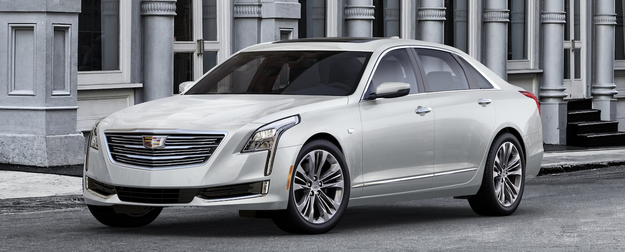 CT6 Exterior in Crystal White Tricoat