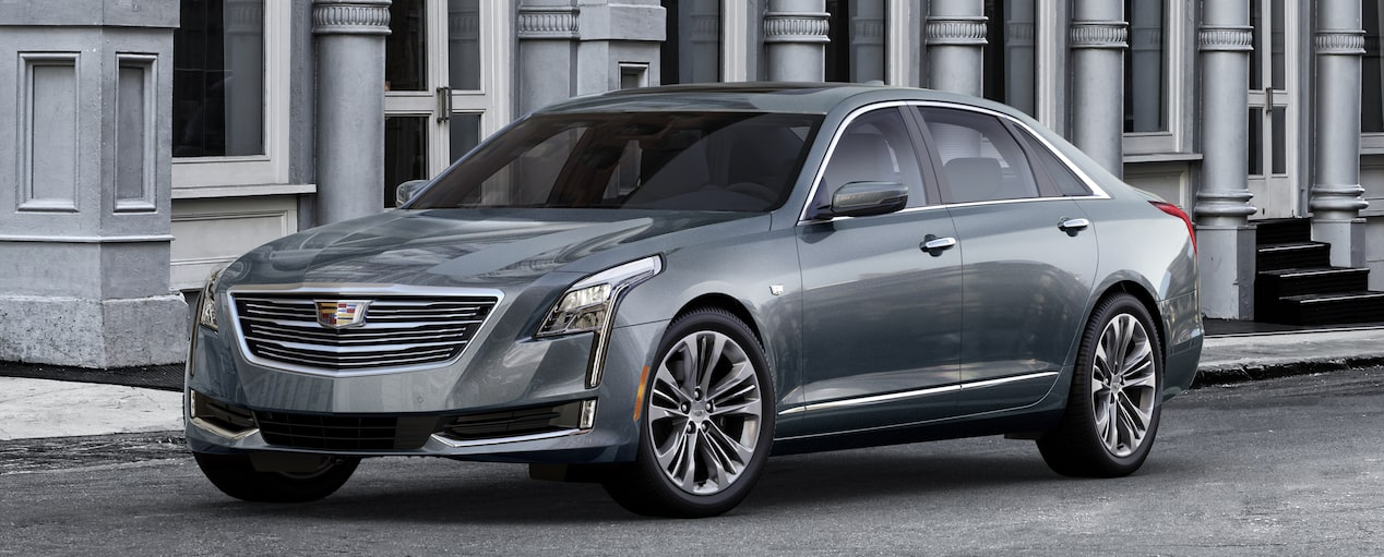 CT6 Exterior in Satin Steel Metallic