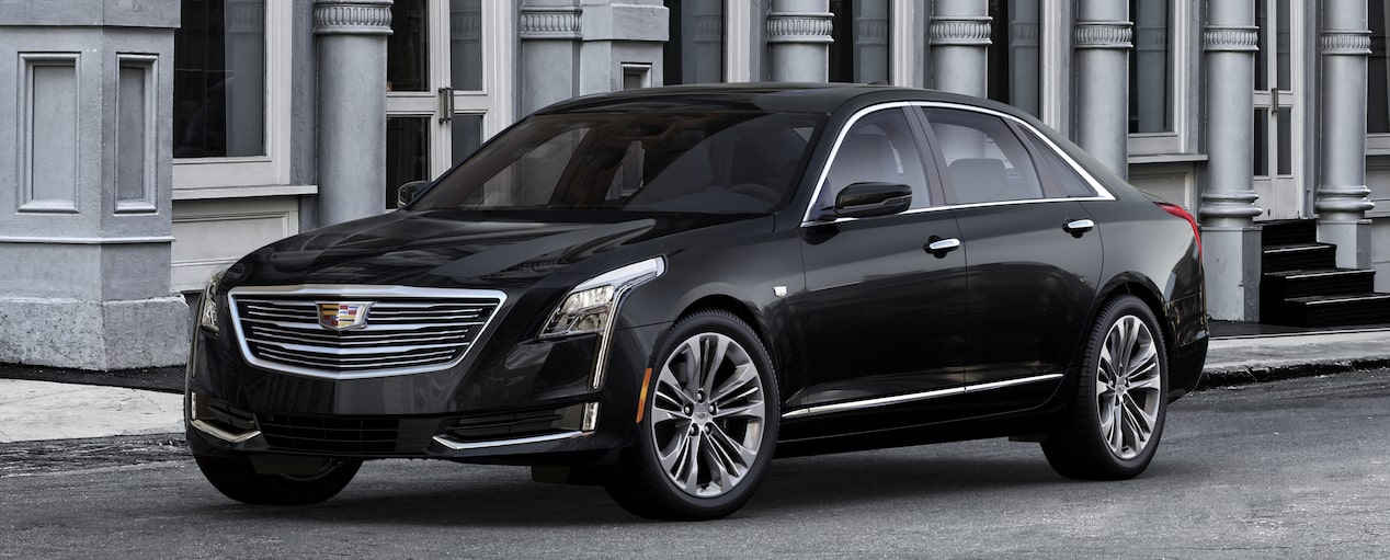 CT6 Exterior in Black Raven