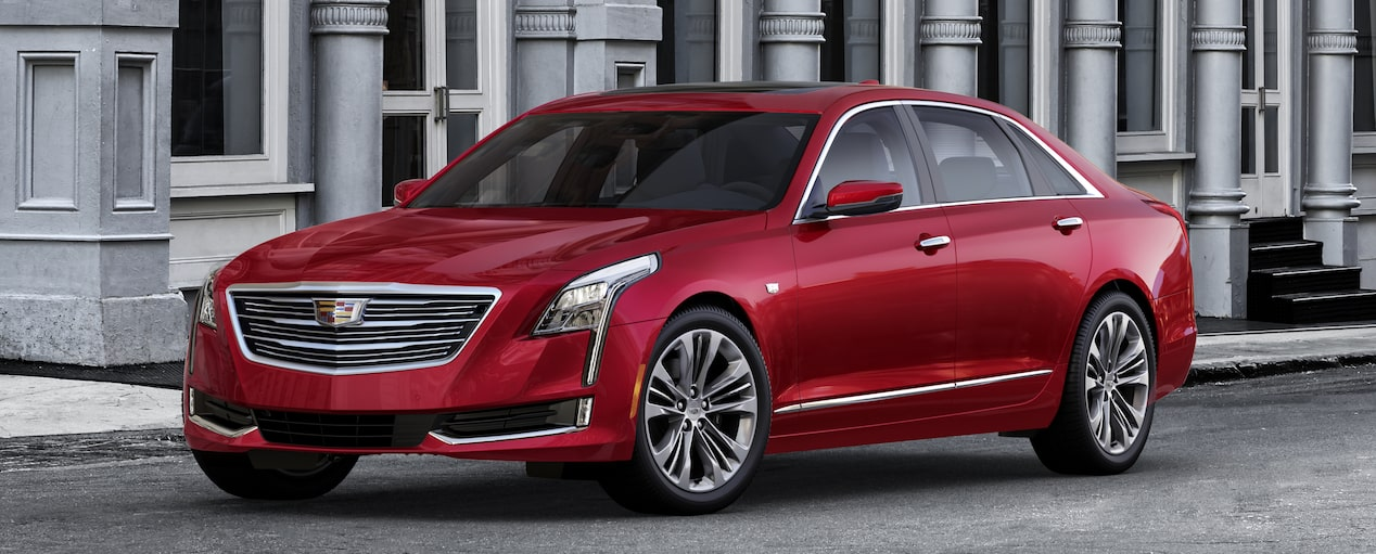 CT6 Exterior in Red Horizon Tintcoat