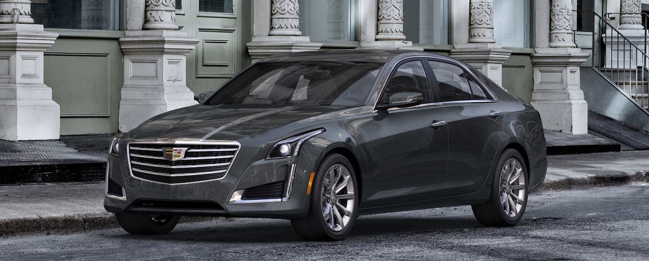 CTS Sedan Exterior in Phantom Gray Metallic