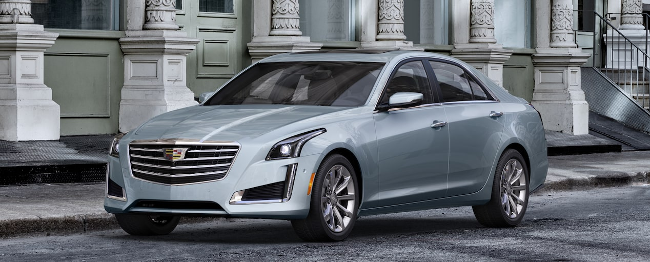 CTS Sedan Exterior in Silver Moonlight Metallic