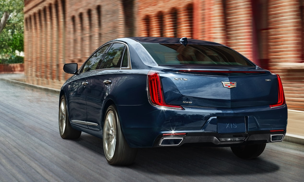 View of XTS Sedan Rear