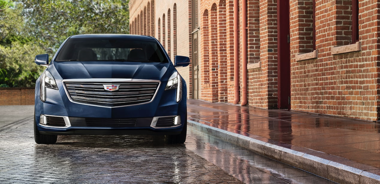 Front View of Cadillac XTS