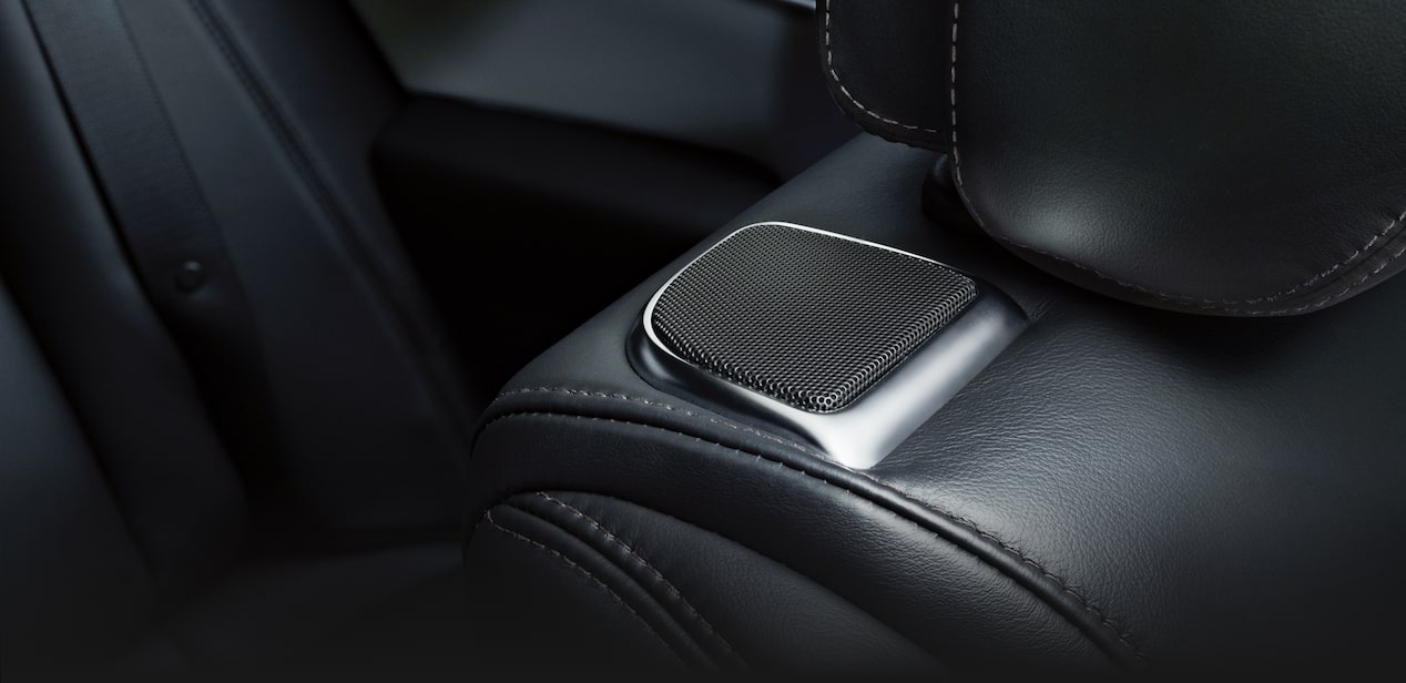 Bose Speaker Inside XTS Sedan Seat