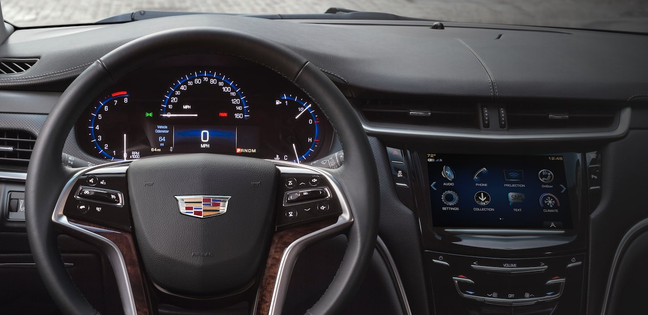Headup Display Inside XTS Sedan