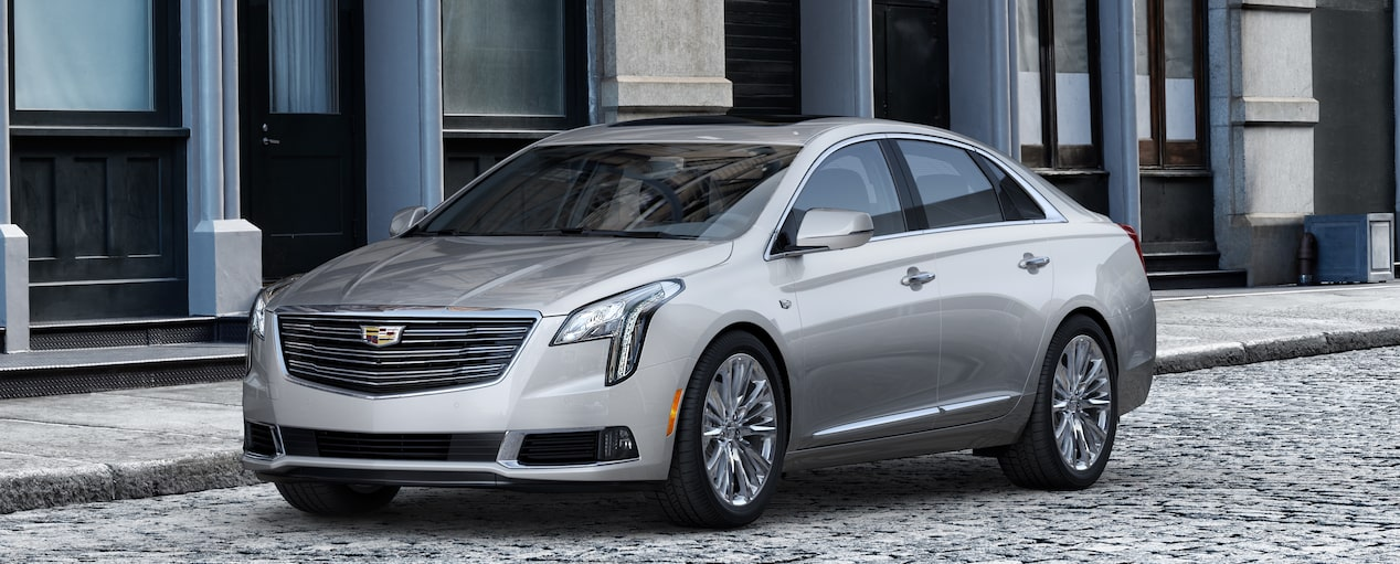 XTS Sedan Exterior in Radiant Silver Metallic