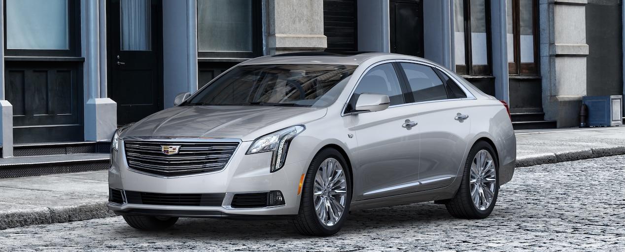 Xts Sedan Exterior In Radiant Silver Metallic