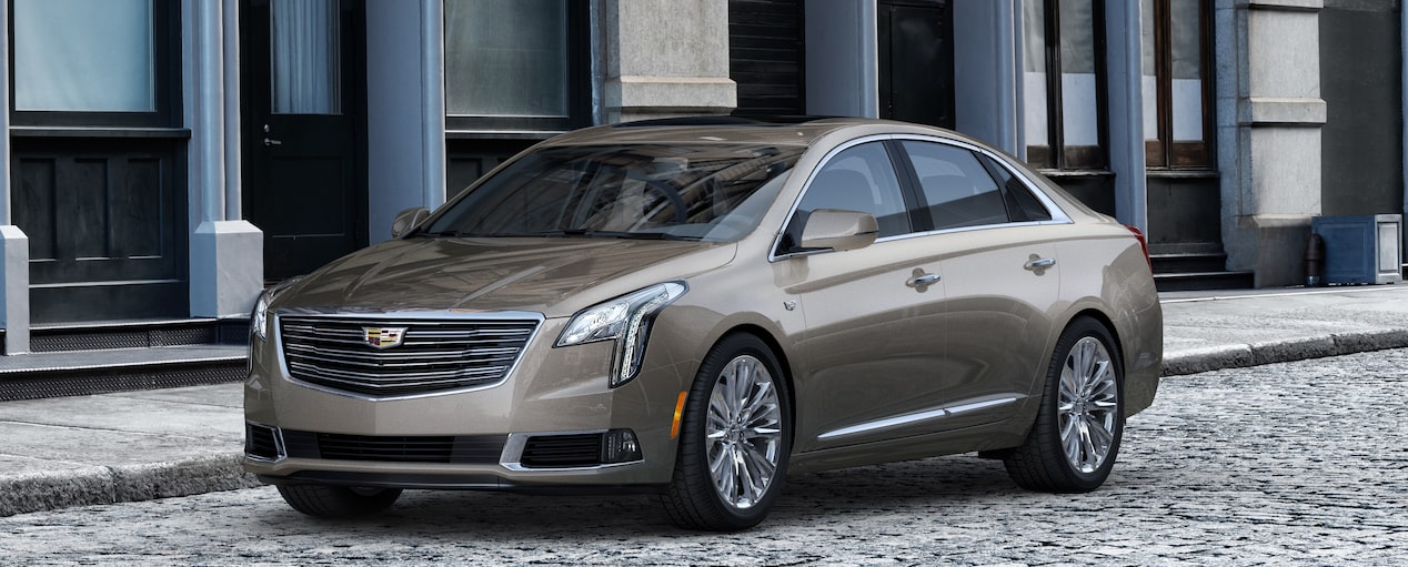 XTS Sedan Exterior in Bronze Dune Metallic