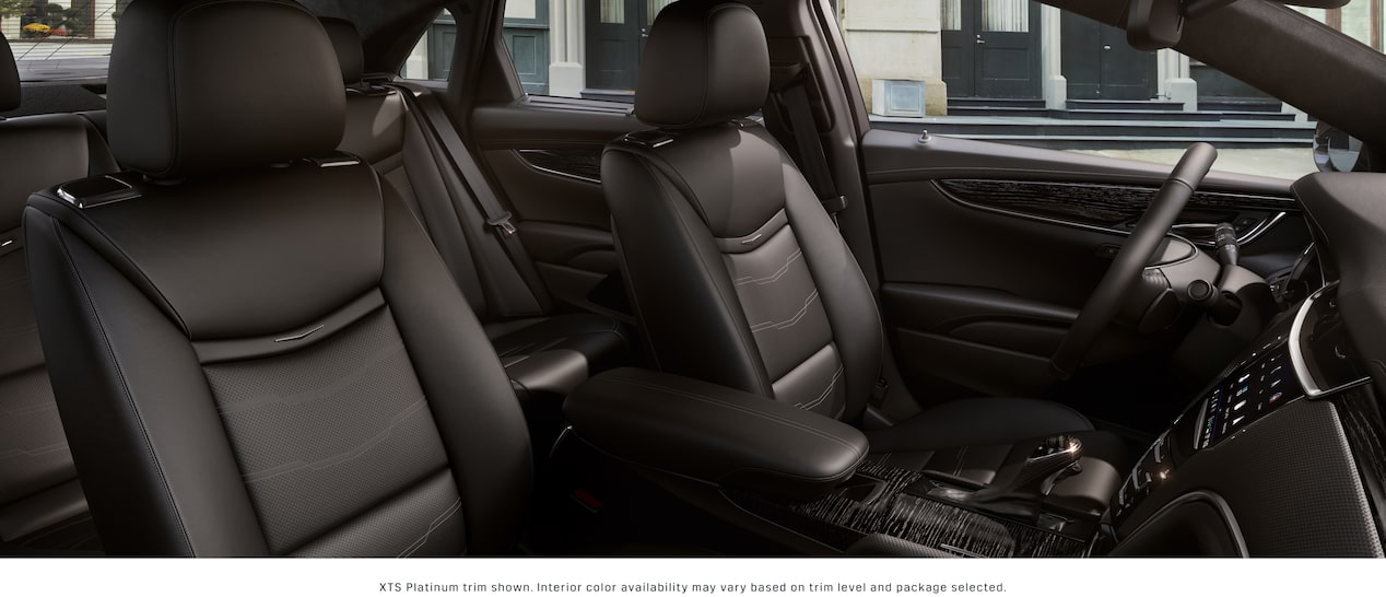 XTS Sedan Interior in Jet Black