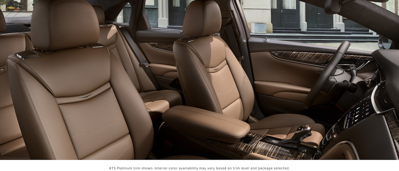 XTS Sedan Interior in Maple Sugar with Black