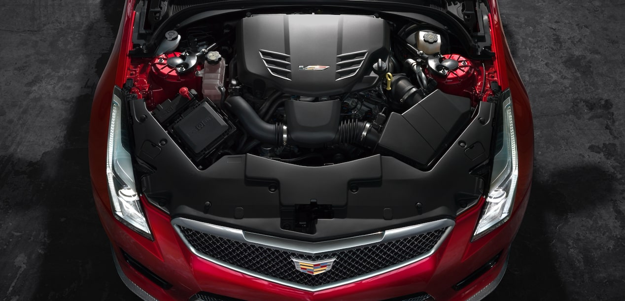 ATS-V Coupe Engine