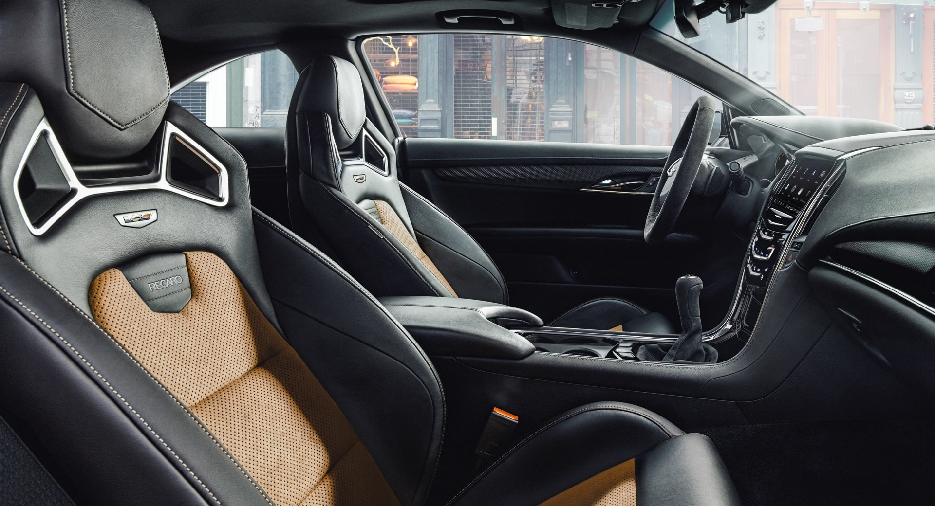 Recaro Seats In ATS V Coupe