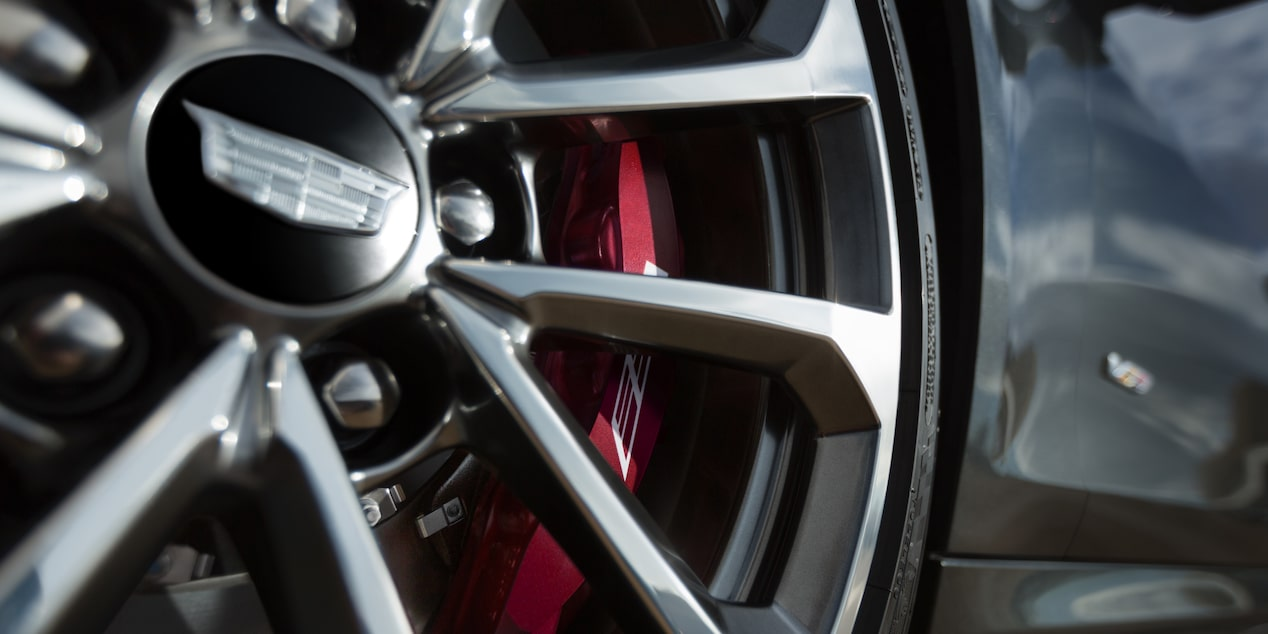 ATS-V Coupe Wheel and Brakes